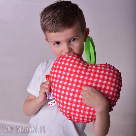 zabawka sensoryczna jabłko - jabłko-sensorek, zabawka-sensoryczna