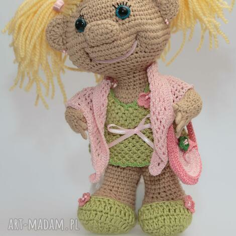 lalka kolekcjonerska - trollinka wiosenna, lalka, maskotka, prezent, gadżet