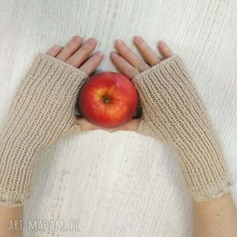 mitenki rękawiczki, drutach, szydełkowe, prezent, włóczkowe