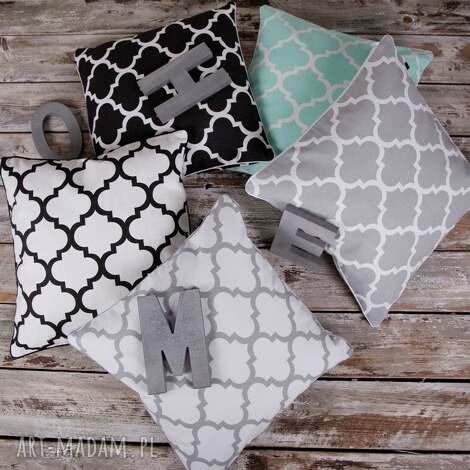 poszewka na poduszkę koniczyna marokańska - 5 kolorów, poduszka