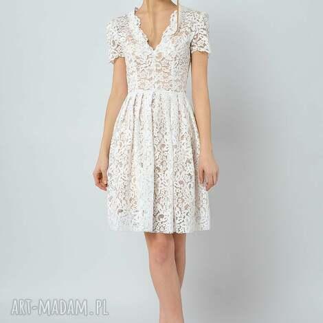 gwiazdnica - koronkowa sukienka ślubna, sukienka, koronkowa