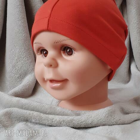 czapeczka z dzianiny, czapka na wiosnę, cienka czapka, dla dziewczynki