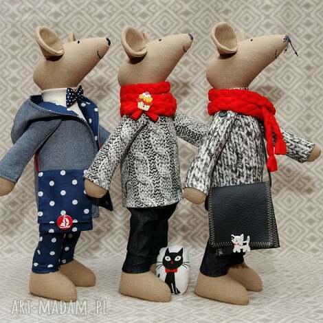gryzoń mąż - mysz, kot, szczur, maskotka, mikołajki