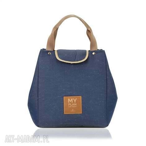 na ramię torba lunch bag 1981, lunch, śniadaniowa torebka, lunchbag