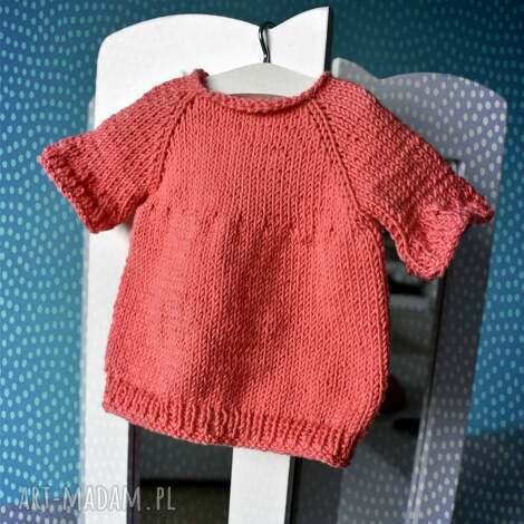 tunika dla lalki misia 40 cm, sukienka, sweterek ubranko lalka miś