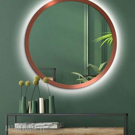 lustro scandinavia bold led to efektowna propozycja do modernistycznych wnętrz