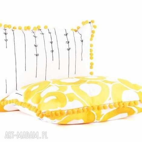poduszki poduszka dekoracyjna słoneczne lato 40x60cm od majunto