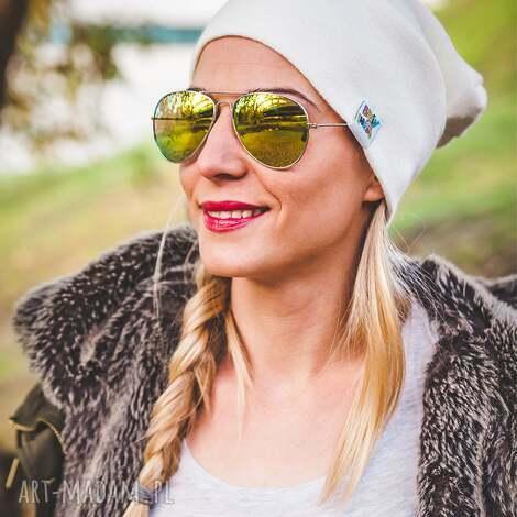 ecru new york long - jesień, zima, czapka, beanie
