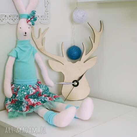 królik - ania - przytulanka, lalka, królik, zabawka, przyjaciel