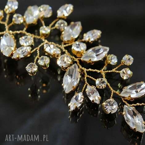 ozdoby do włosów w blasku kryształów 3, ślub, ozdoba, kryształ, preciosa