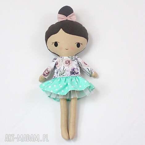 lalka przytulanka weronika, 45 cm, lala, szmacianka, prezent