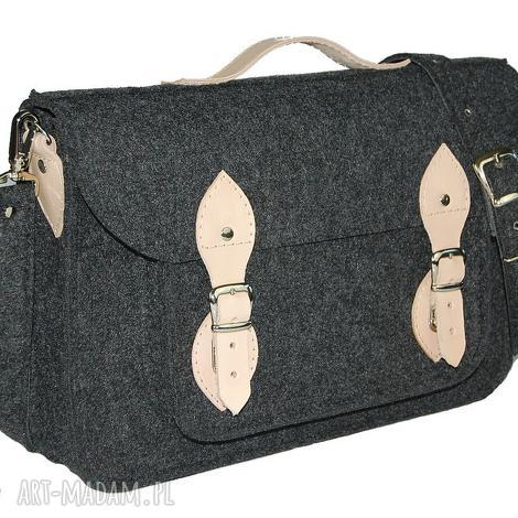 970732025e2a8 filcowa torba na laptop 15 - personalizowana-grawerowana dedykacja, laptop