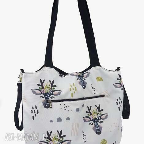 art4mum torba shopper z mocowanim do wózka roguś, shopperka, wózka, torebka