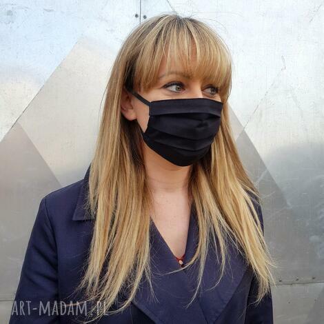 maseczka do twarzy ochronna bawełna mix wzorów pakiet 10 szt wielorazowa