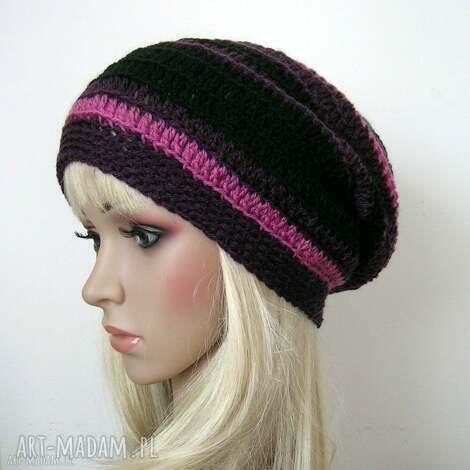 Samantha - w stylu boho - czapka