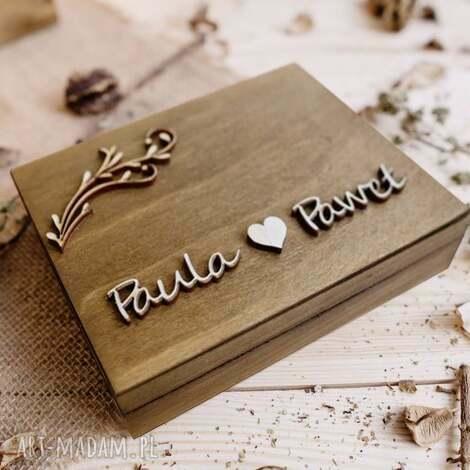 pudełko na obrączki 3, ślub, pudełko, obrączki, akcesoria, drewniane