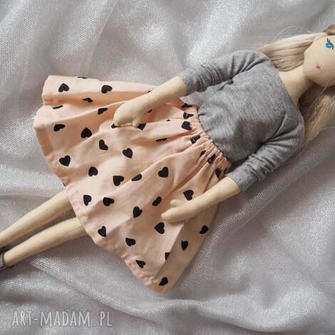 lalki lalka #196, szmacinka, ekolalka, przytulanka dla dziecka
