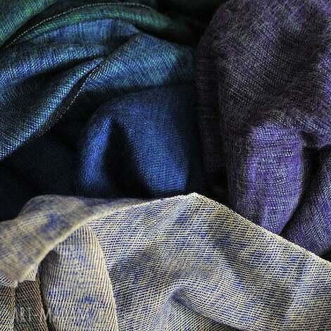 szale himalajskie gyalmo wyjątkowe kolory idealne na prezent - szal, azalik, chusta