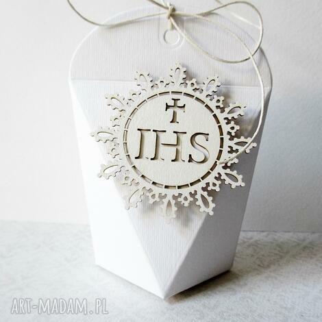 komunia - pudełeczka podziękowania dla gości 10 szt - komunia, pudełeczka