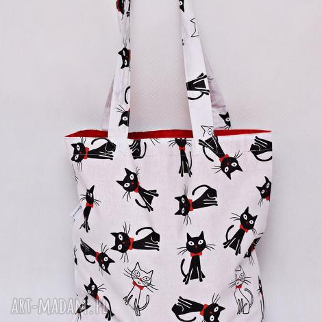 torba na zakupy shopperka ekologiczna zakupowa ramię bawełniana