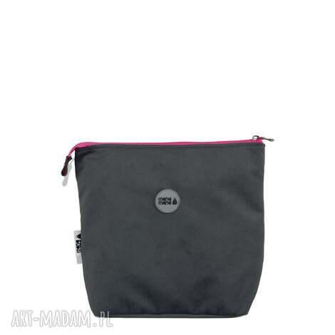 7811b67252bb9 torba Śniadaniowa szara, śniadaniowa, torebka do pracy, nieprzemakalna,  wygodna