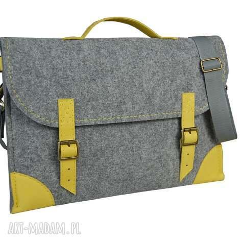 etoi design filcowa torba na laptopa - szyta miarę różne kolory, laptop