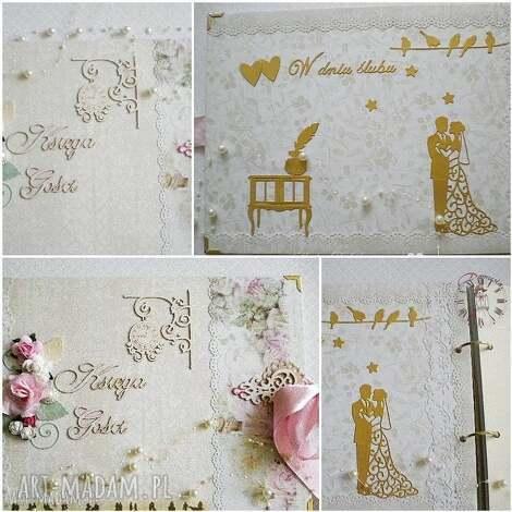 księga gości weselnych, księga, gości, ślub, wesele, para, młoda