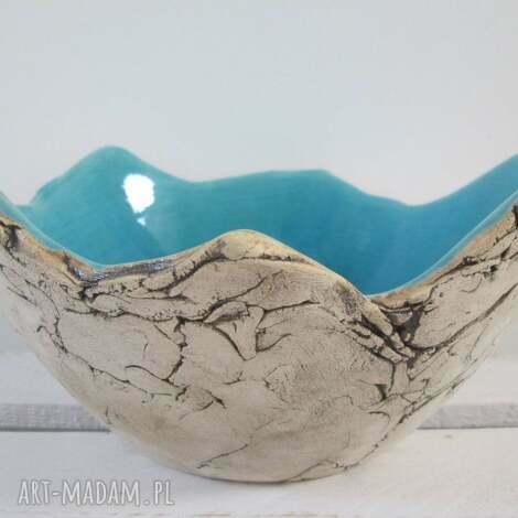ceramika sardynia artystyczna miska rozmiar m, ceramiczna, dekoracyjna