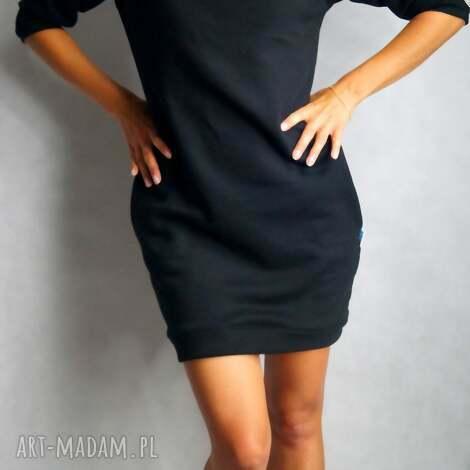 dresówka m/l, dresowa, tunika, sukienka, kieszenie, ciepła tuniki