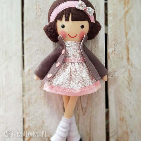 malowana lala milenka, lalka, przytulanka, niespodzianka, zabawka, dla dziecka