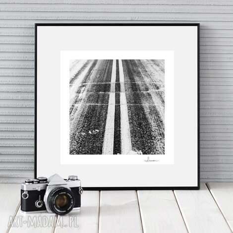 fotografie autorska fotografia analogowa, droga, zdjęcie, wydruk
