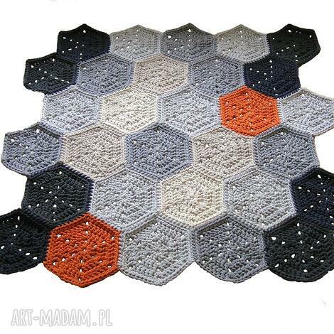 dywan polygonal na zamówienie p agaty, dywan, chodnik, bawełniany, sznurkowy