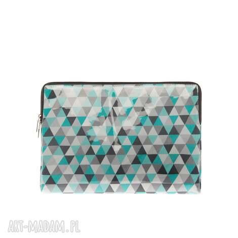 etui na laptop case sleeve nice triangles, etui