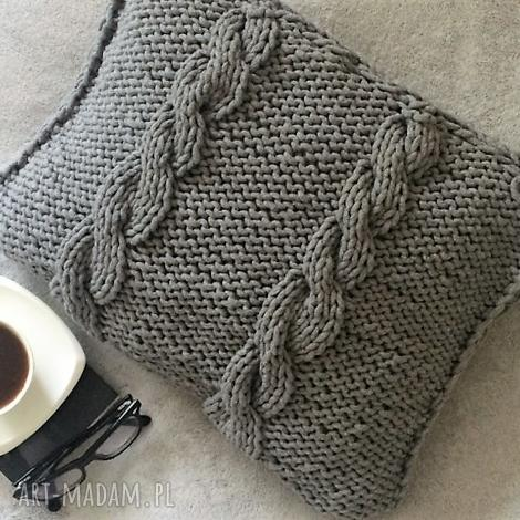splociarnia poduszka ze sznurka bawełnianego, poduszka, sznurekbawełniany