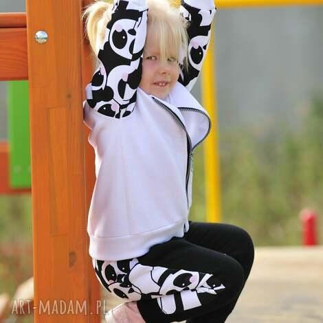 ubranka dres z pandą, dziewczynka, dres, panda, zima dla dziecka