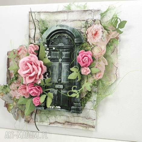 pod choinkę prezent, dom róż, album, scrapbooking, zdjęcia, pamiątka
