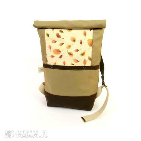 plecak chocolate, plecak, boho, romantyczny, retro, unikatowy, kwiaty