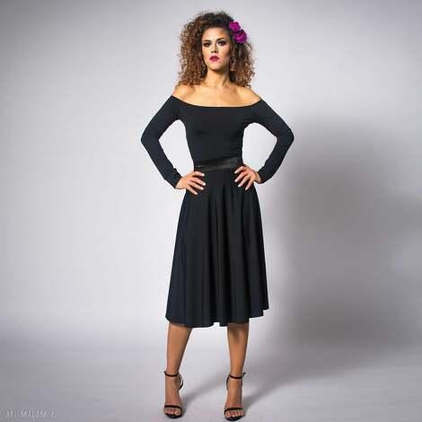 ursula - sukienka, elastyczna, jersey, minimalistyczna