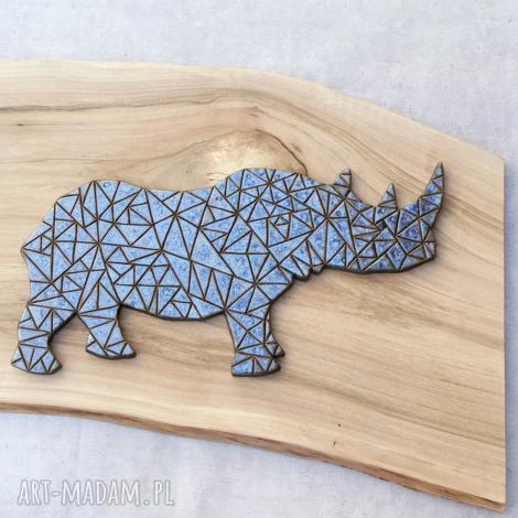 ceramika dekor ceramiczny nosorożec, dekor, geometryczne, zwierzęta
