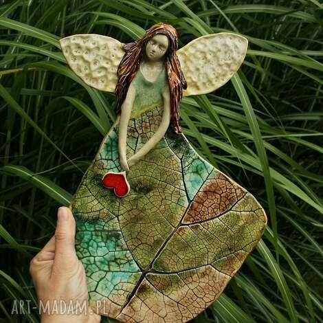 świąteczne prezenty, leśny anioł, anioł na chrzest, prezent komunię