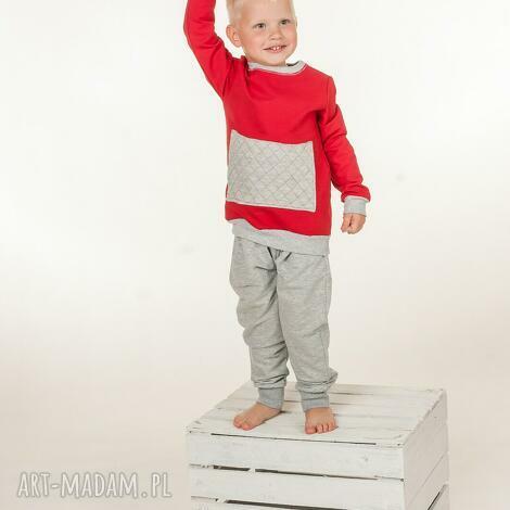 bluza czerwona-zamów indywidualne, bluza