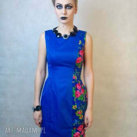 sukienki folk design sukienka klasyk, folk, góralska, unikat, design
