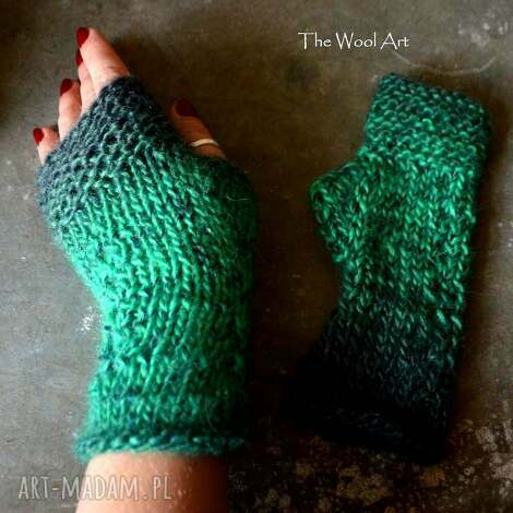 rękawiczki mitenki - rękawiczki, mitenki, naręce, prezent