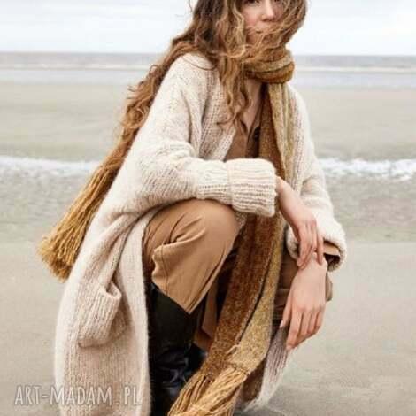 sweter płaszcz filadelfia, sweter, płaszcz, prezent, ręczna robota, dziergany