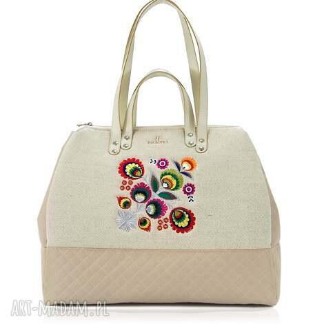 torba podróżna folk 423, praktyczna, pojemna, duża