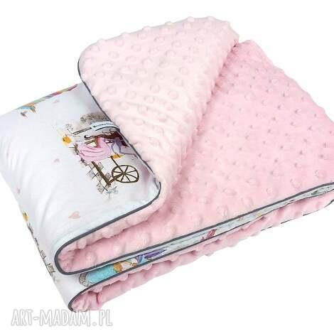 zestaw pościeli z wypełnieniem do wózka - niemowle, spanie, bawełna