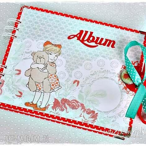 album na fotografie dla dziewczyki - urodziny, album, dziecko, dziewczynka, foto
