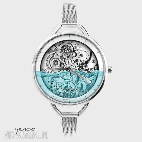 zegarek, bransoletka - wodny - steampunk - bransoletka, zegarek, steampunk, retro