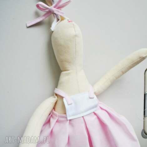 pani królik - maskotka, przytulanka, szmaciana, urodziny, prezent, zabawka