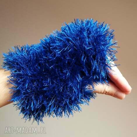 ciasteczkowy potwór mitenki rękawiczki, mitenki, włochate, cieplutkie
